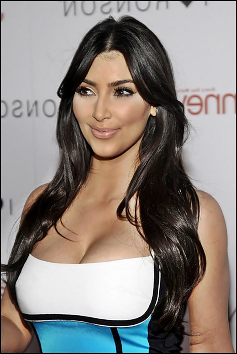 kim kardashian hairstyles - blondelacquer
