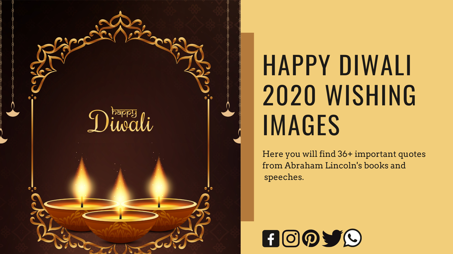 Best Happy Diwali Wishes With Images - Quotesmotiv