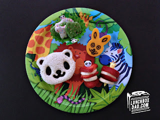 Panda Zoo Party kids birthday party lunch
