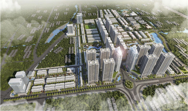 Phối cảnh Hoàng Huy New City