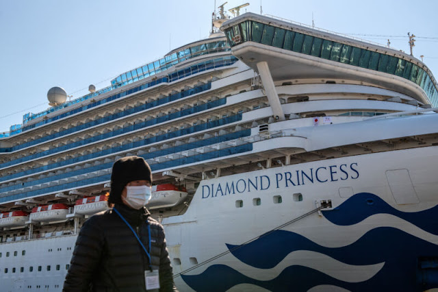 Americans caught on voyage transport with coronavirus find a workable pace