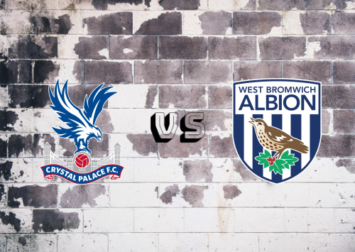 Crystal Palace vs West Bromwich Albion  Resumen