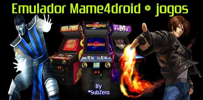 Emulador Mame4droid - Neo Geo [Fliperama para android + Jogos/Roms atualizados)