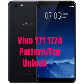 Vivo Y71 (Vivo 1724) Pattern,Password & FRP Unlock