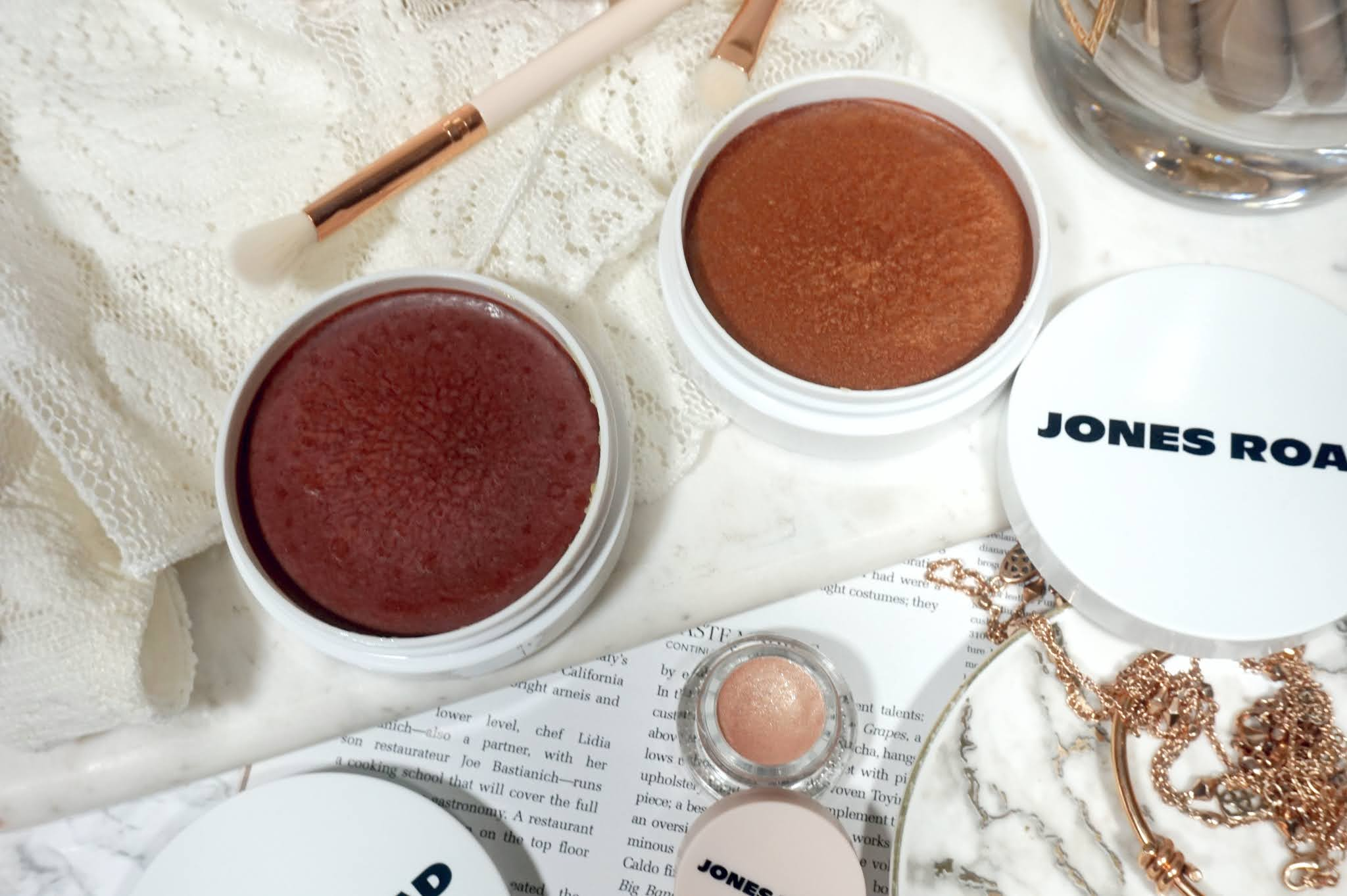 Jones Road Beauty Miracle Balm All-Over Glow Review and Swatches