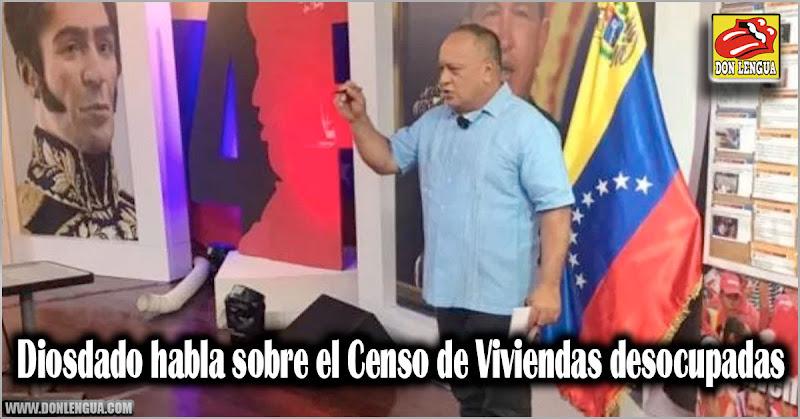 Diosdado asegura que solo quitarán viviendas entregadas por el gobierno si están alquiladas a otros