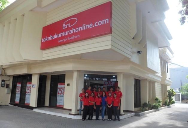 Toko Buku Murah Online Surabaya