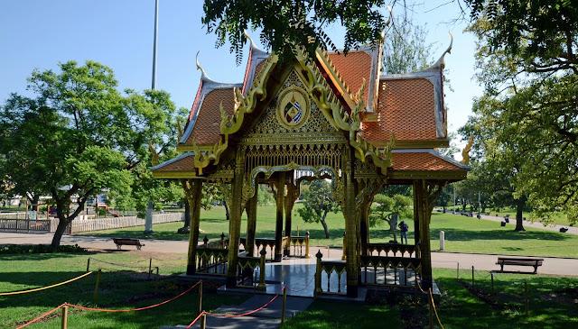 Hoje vamos descobrir pavilhão tailandês belém