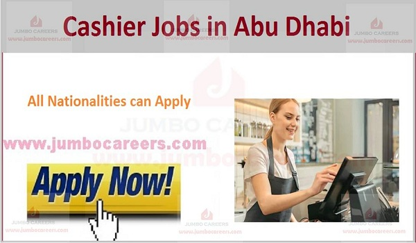 Latest Cashier Jobs in Abu Dhabi 2020 | Travel & Tourism Careers in UAE
