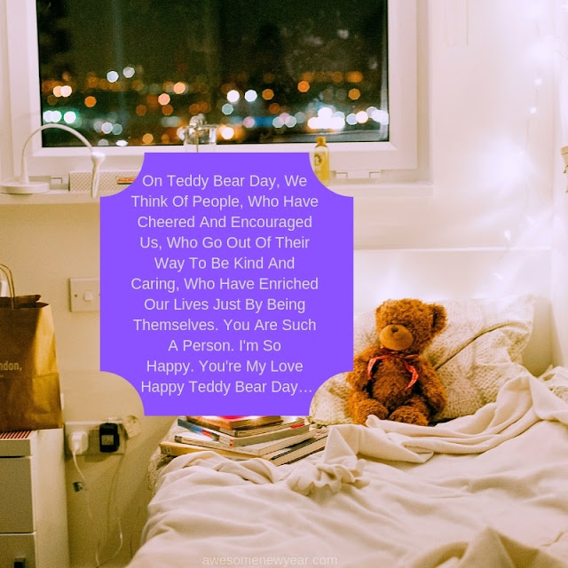 Happy #Teddy Day Quotes for boyfriend