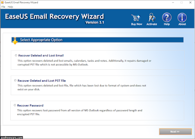 EaseUS Email Recovery Wizard