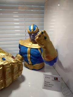 Toy Fair 2020 UK Monogram Bust Banks Marvel Comics Thanos