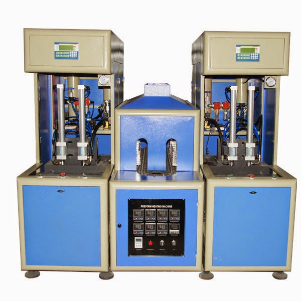 bottle blowing machine semi automatic plastic bottles blower equipment şişe makinesi üfleme