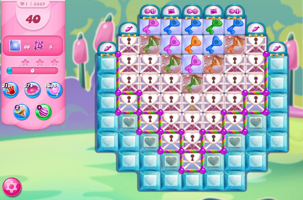 Candy Crush Saga level 8865