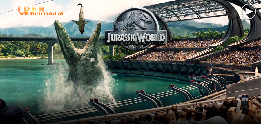 Dinozauri noi şi un parc de distracţii scăpat de sub control în primul trailer complet pentru Jurassic World
