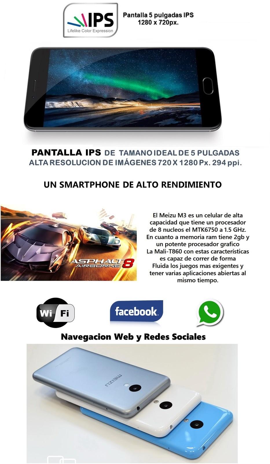 celular meizu M3 MINI note smartphone android flyme octa core