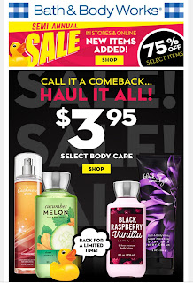 Bath & Body Works | Today's Email - January 6, 2020