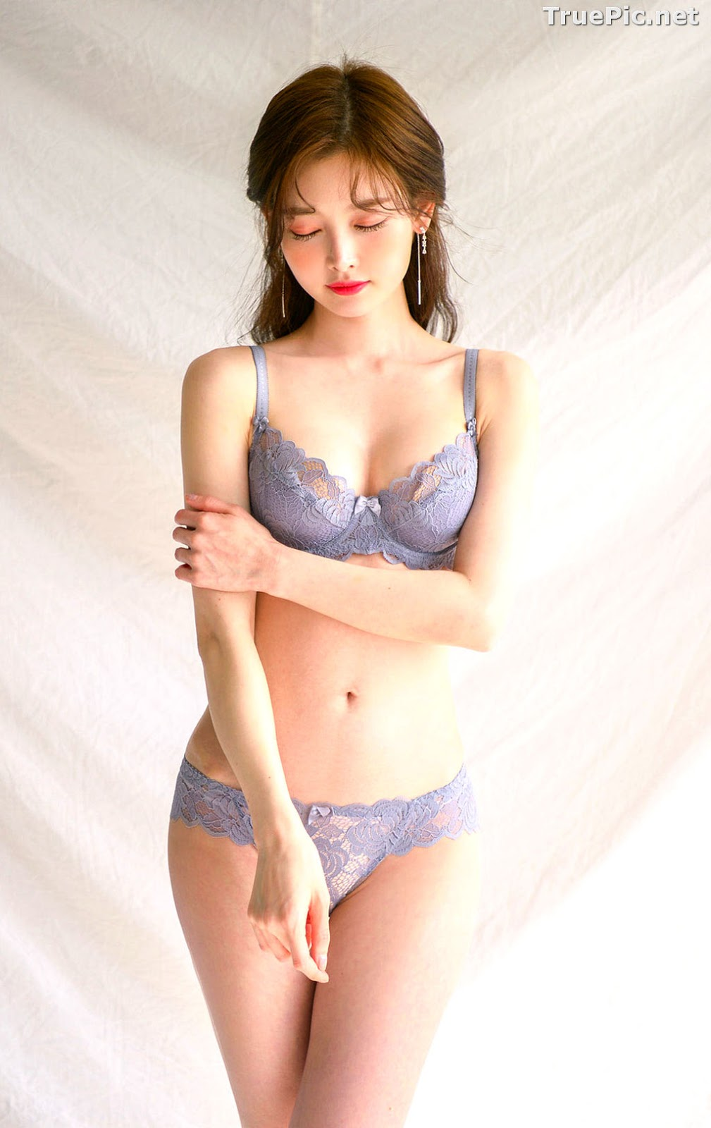 Image Korean Fashion Model - Kim Hee Jeong - Lingerie Gift for You - TruePic.net - Picture-9