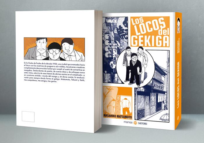 Los locos del gekiga (Gekiga Baka-tachi!!) manga - Masahiko Matsumoto - Satori Ediciones