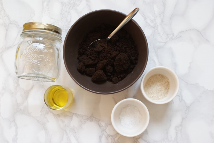 recipe scrub coffee body francinesplaceblog