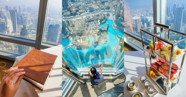 Atmosphere Burj Khalifa breakfast review