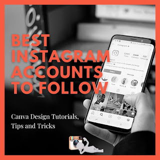 11 Best Instagram accounts to follow for Canva Design Tutorials, Tips and Tricks