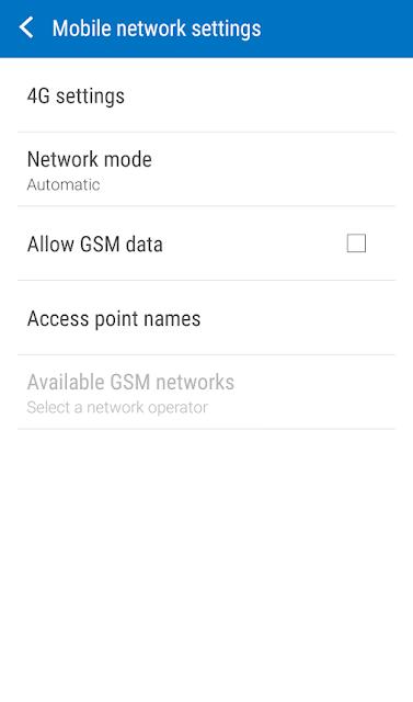 Cara Merubah Jaringan 3g ke 4g Samsung 4
