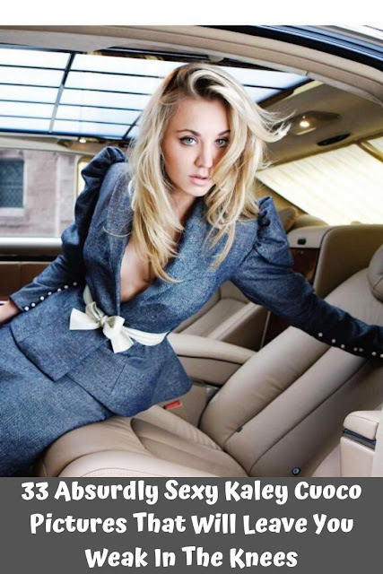 33 Sexy Kaley Cuoco Pictures That Will Leave You Weak In