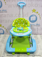 Baby Walker Care CW302 2 in Rocking Car Melody