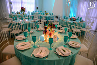 casamento dos lelês realizado na sociedade de engenharia do rs salão guaíba com decoração delicada e descontraída em azul tiffany roxo e verde por fernanda dutra eventos cerimonialista em porto alegre wedding planner em portugal casamento para brasileiros em portugal