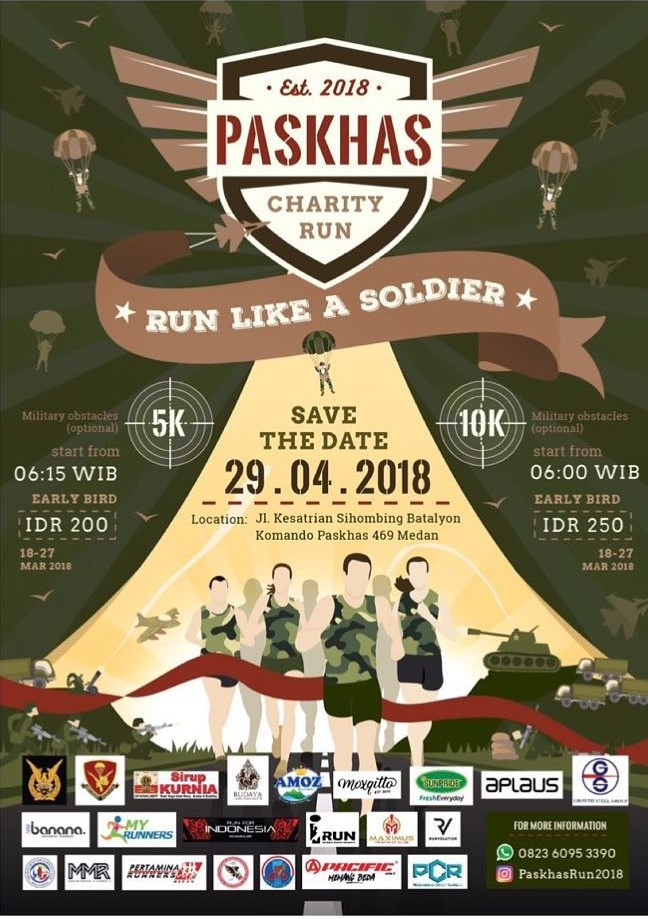 Paskhas Charity Run • 2018