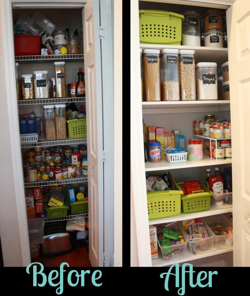 Organize Kitchen Pantry: 31 Days Of Spontaneous Organizing
