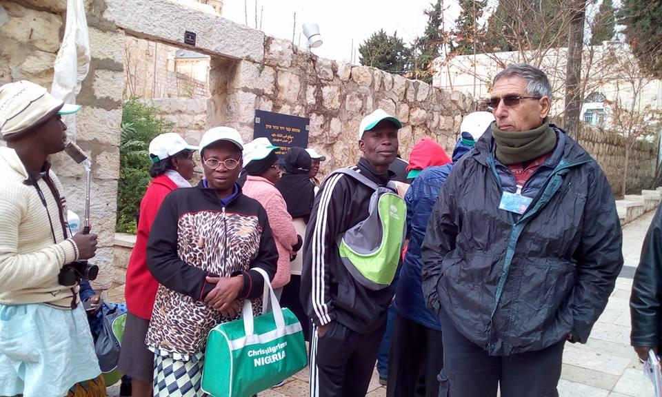 Ekiti State Pilgrims Visit Site Where Jesus Turned Water Into Wine In Jerusalem