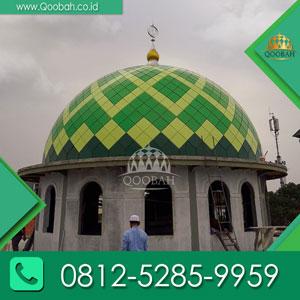 Penjual Kubah Masjid Kota Jayapura