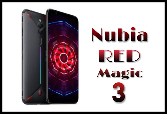 Nubia red magic 3 specifications and features - 2019