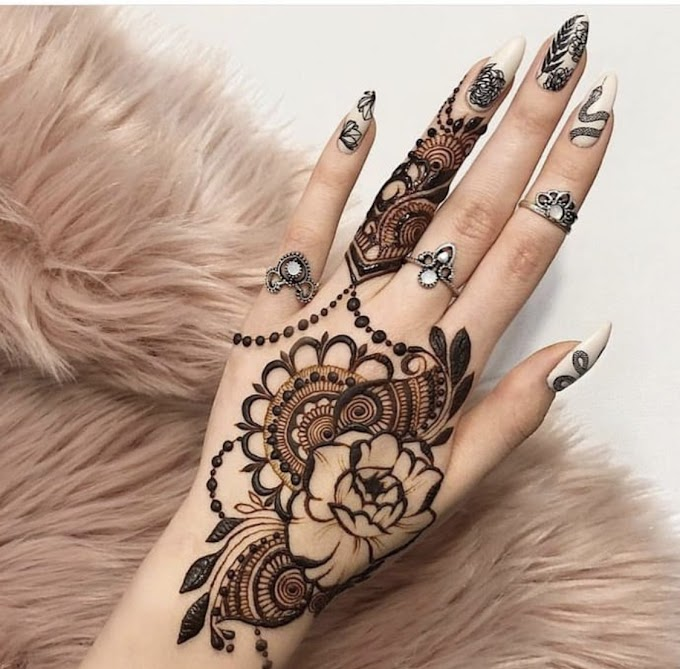 Simple and easy mehndi designs