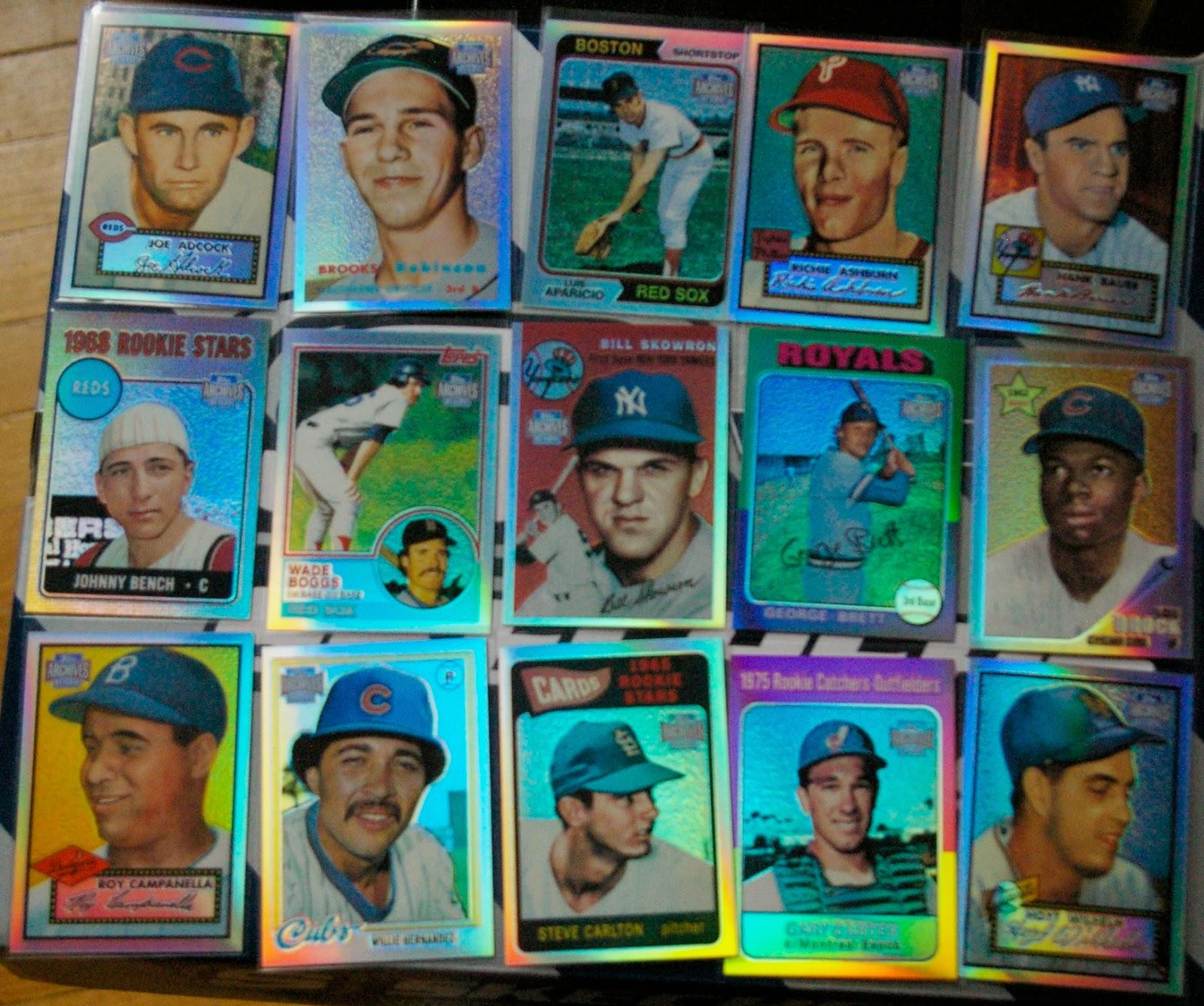 Baseball Card Breakdown Joy Of A Completed Set 2001 Topps