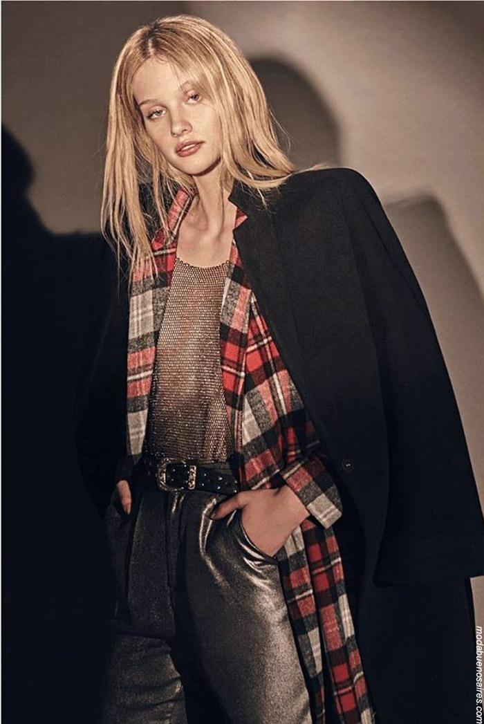 Moda invierno 2019 ropa de mujer. Ropa invierno 2019.