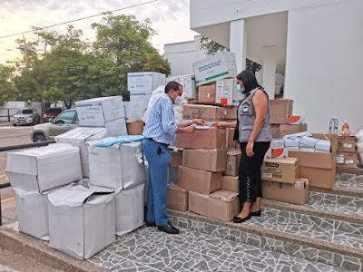 hoyennoticia.com, Distrito de Riohacha donó elementos médicos y de bioseguridad al hospital Nuestra Señora de los remedios