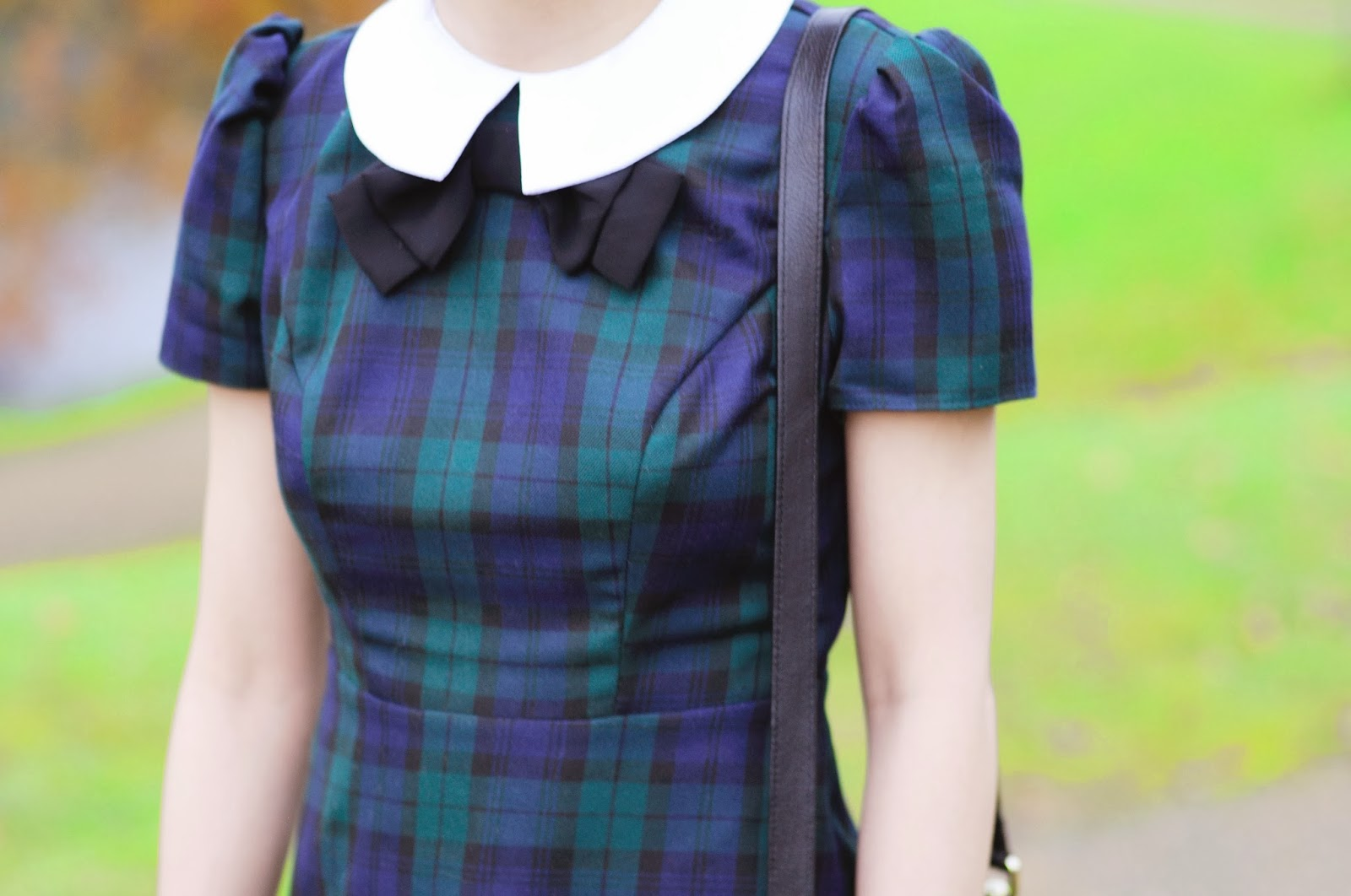 Tartan dress from Primark