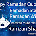 Happy Ramadan Quotes, Wishes & Ramzan Mubarak Images For Whatsapp