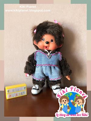 kiki monchhichi short vehement clothes doll poupée handmade fait main couture sewing