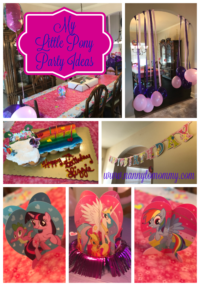 Happy Birthday Sweet Pea My Little Pony Party Ideas