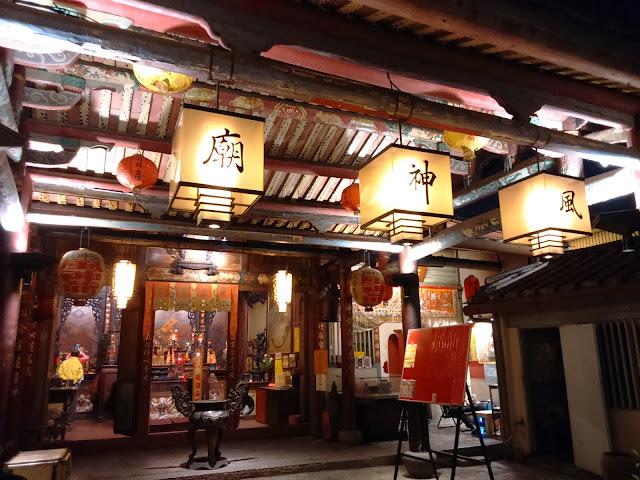 風神廟夜景
