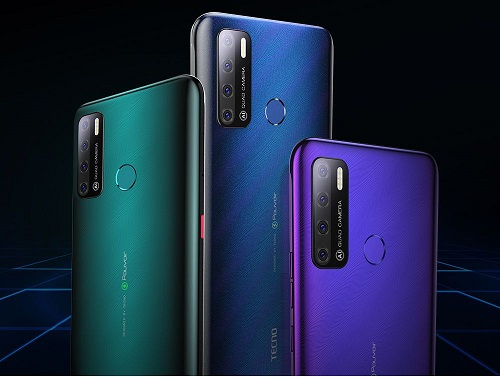 TECNO Pouvoir 4 Series with Dot Notch Screen, 6000mAh Battery Launched