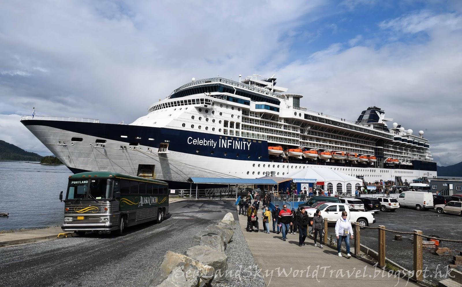 海陸空遊世界 阿拉斯加郵輪之旅 行程概覽