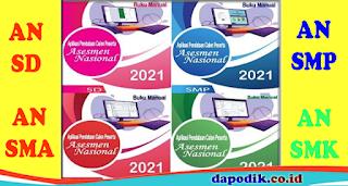 PANDUAN  APLIKASI PENDATAAN ASESMEN NASIONAL (AN) JENJANG SD/MI, SMP/MTs, SMA/MA, SMK TP 2021-2022