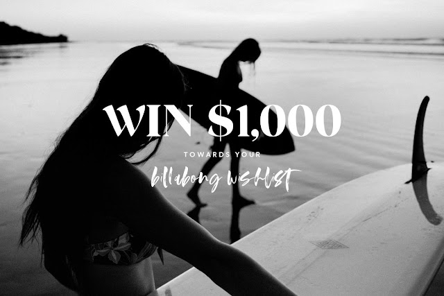 Here are some instructions about how to enter the Billabong Win Your Wishlist Sweepstakes for your chance to win some really great prizes!