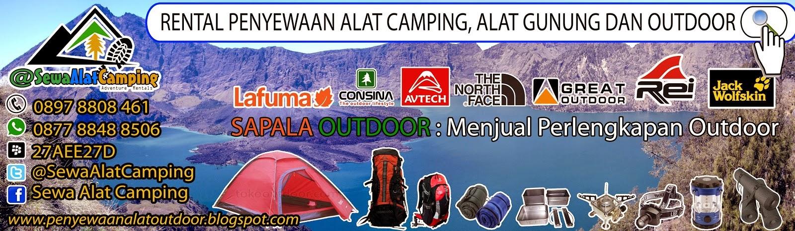 Sewa Alat Camping Di Jakarta