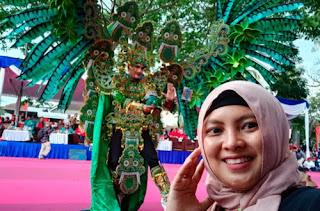 Meriahnya Ragam Kreasi Padma Nusa di Malang Flower Carnival 2019